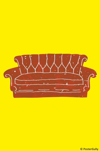 Wall Art, Friends Sofa, - PosterGully