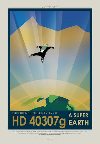 PosterGully Specials, HD 40307G | Nasa Posters, - PosterGully