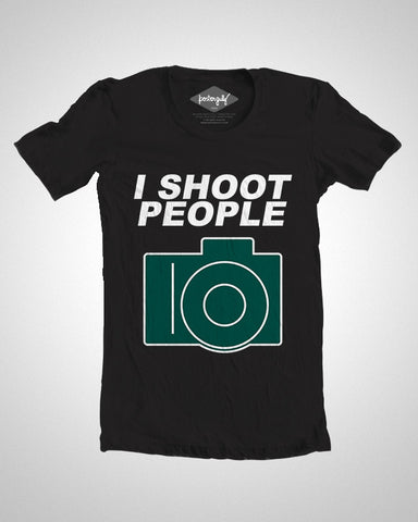 T Shirts, I Shoot People T-Shirt, - PosterGully