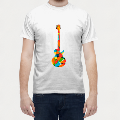 T Shirts, Guitar Pop T-Shirt, - PosterGully