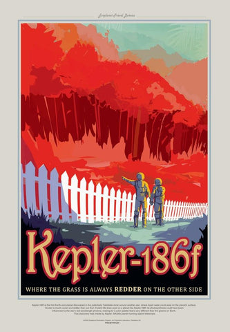 PosterGully Specials, Kepler-186f | Nasa Posters, - PosterGully