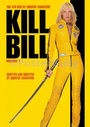 PosterGully Specials, Kill Bill by Quentin Tarantino | Volume 1, - PosterGully