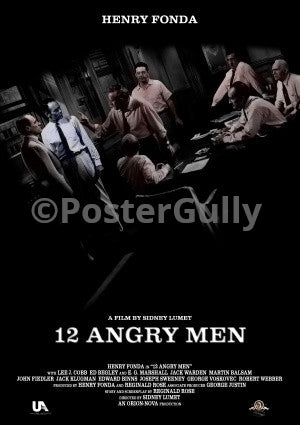 PosterGully Specials, 12 Angry Men, - PosterGully