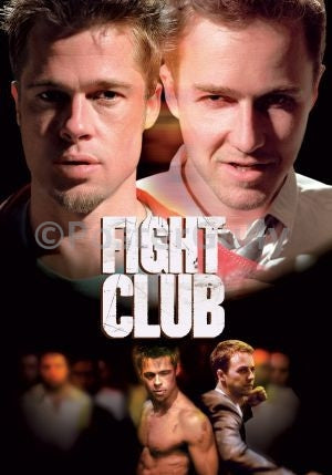 PosterGully Specials, Fight Club | Edward Norton & Brad Pitt, - PosterGully