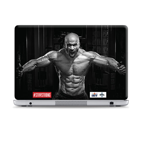 Be A Warrior Laptop Skins | Artist : IHFF Olympia India