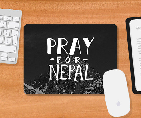 Mousepads, Pray For Nepal Mousepad | Artist: Inderpreet Singh, - PosterGully