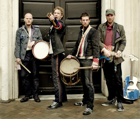 PosterGully Specials, Coldplay | Band Portrait, - PosterGully