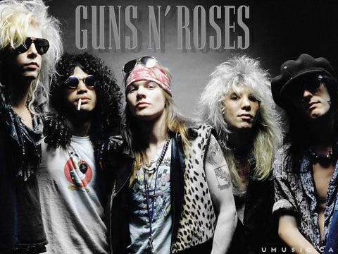 PosterGully Specials, Guns N' Roses | Slash & Axl Rose, - PosterGully
