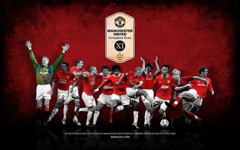 PosterGully Specials, Manchester United | Greatest 11, - PosterGully