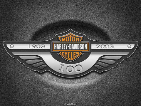 PosterGully Specials, Harley Davidson | 100 Years, - PosterGully