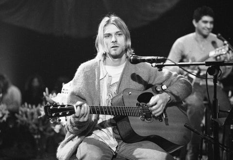 PosterGully Specials, Kurt Cobain | MTV Unplugged, - PosterGully