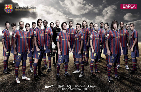 PosterGully Specials, F.C Barcelona | Squad, - PosterGully