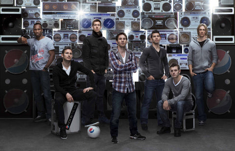 PosterGully Specials, Lampard, Messi, Drogba in Pepsi 2012 Squad, - PosterGully