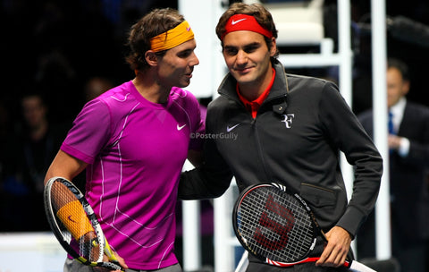 PosterGully Specials, Rafael Nadal & Roger Federer, - PosterGully