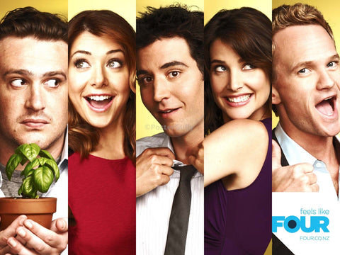 PosterGully Specials, How I Met Your Mother | Feels Like Four, - PosterGully