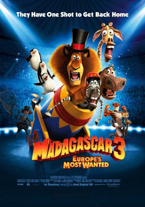 PosterGully Specials, Madagascar 3, - PosterGully