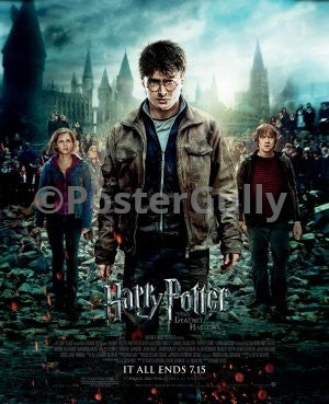 PosterGully Specials, Harry Potter & the Deathly Hallows, - PosterGully