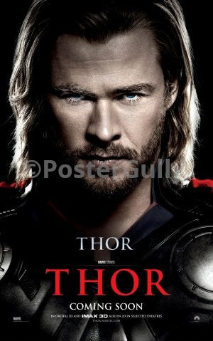 Wall Art, Thor | God of Thunder, - PosterGully