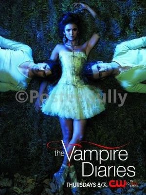 PosterGully Specials, Vampire Diaries | Elena, Damon & Stefan, - PosterGully