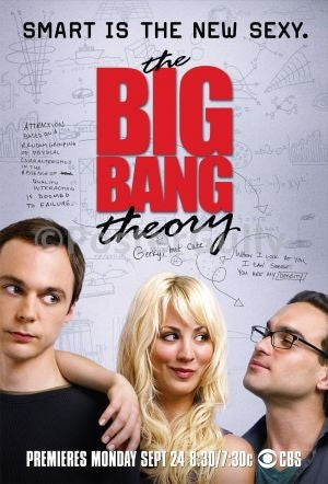 PosterGully Specials, Big Bang Theory | Smart is the new sexy, - PosterGully