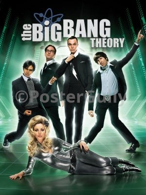 PosterGully Specials, The Big Bang Theory | Barbarella, - PosterGully