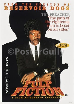 PosterGully Specials, Samuel L. Jackson in Pulp Fiction, - PosterGully