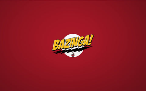 PosterGully Specials, Big Bang Theory | Bazinga!, - PosterGully