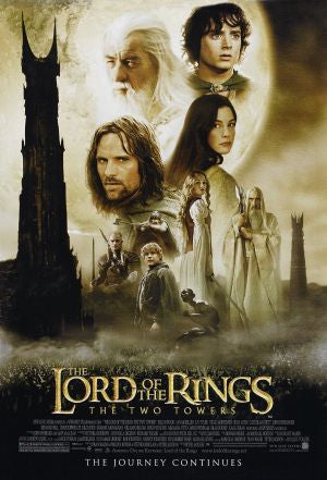 PosterGully Specials, Lord Of The Rings | The Twin Towers, - PosterGully