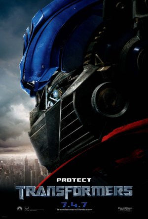 PosterGully Specials, Protect Transformers, - PosterGully