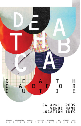 PosterGully Specials, Death Cab For Cutie, - PosterGully