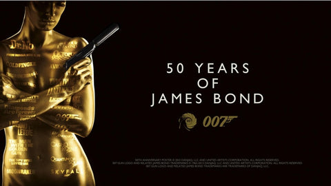 PosterGully Specials, 50 Years Of James Bond, - PosterGully
