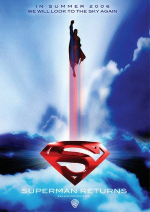 PosterGully Specials, Superman Returns | Look To The Sky Again, - PosterGully