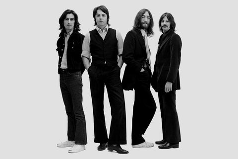 PosterGully Specials, The Beatles | All Black, - PosterGully