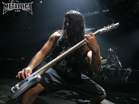 PosterGully Specials, Metallica | Robert Trujillo in 2007, - PosterGully