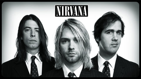 PosterGully Specials, Nirvana | Kurt Cobain & The Band, - PosterGully