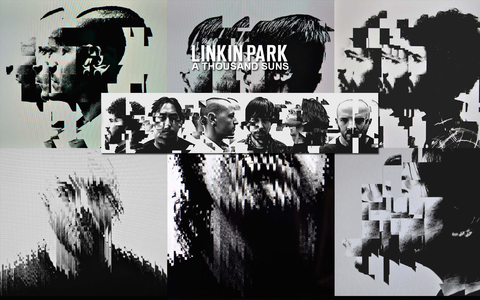 PosterGully Specials, Linkin Park | Abstract Art Poster, - PosterGully