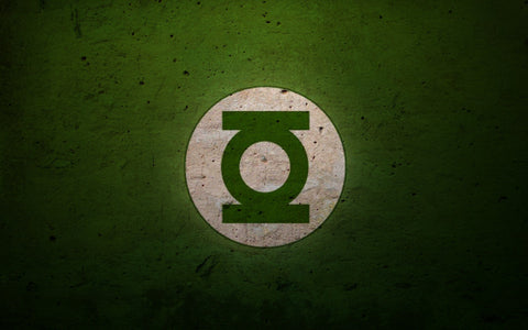 PosterGully Specials, The Green Lantern Logo, - PosterGully