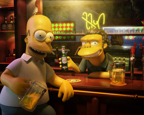 PosterGully Specials, Homer Simpson | Duff Beer, - PosterGully