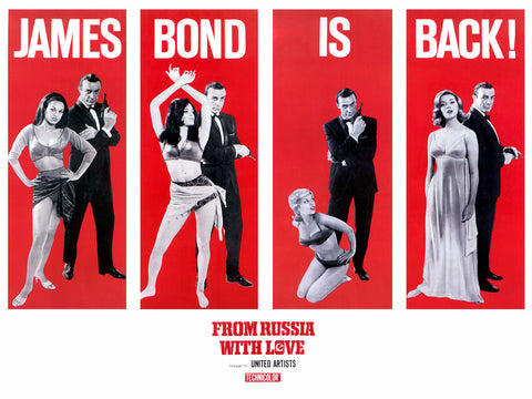 PosterGully Specials, James Bond is Back, - PosterGully