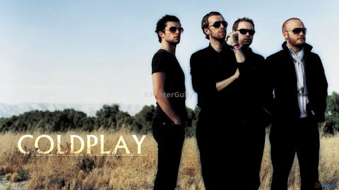 PosterGully Specials, Coldplay | The Cult Band, - PosterGully