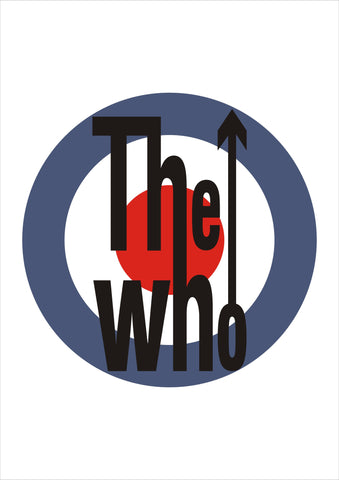 PosterGully Specials, The Who Logo, - PosterGully