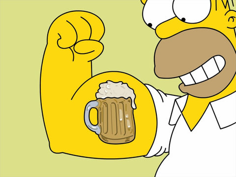 PosterGully Specials, The Simpsons | Beer, - PosterGully
