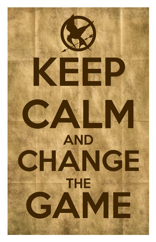 Wall Art, Keep Calm & Change The Game, - PosterGully