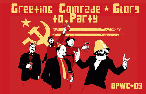 PosterGully Specials, The Communist Party | BPWC 09, - PosterGully