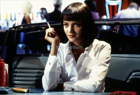 PosterGully Specials, Uma Thurman | Pulp Fiction, - PosterGully