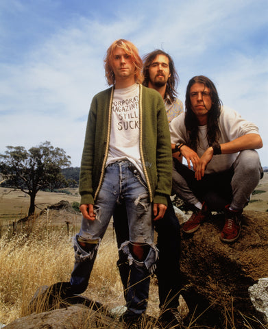 PosterGully Specials, Nirvana | Grunge Rock Band, - PosterGully