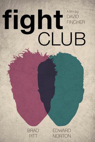 PosterGully Specials, Fight Club | Minimal Art, - PosterGully