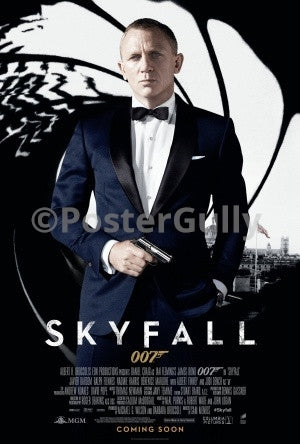 PosterGully Specials, Skyfall | 007, - PosterGully