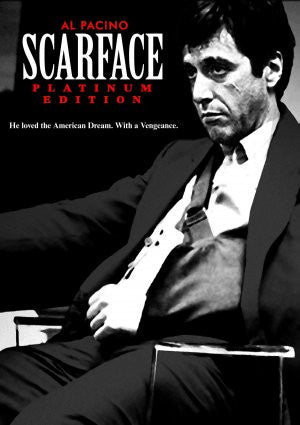 PosterGully Specials, Scarface | He loved the American Dream, - PosterGully