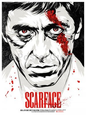 PosterGully Specials, Scarface | Art Poster, - PosterGully